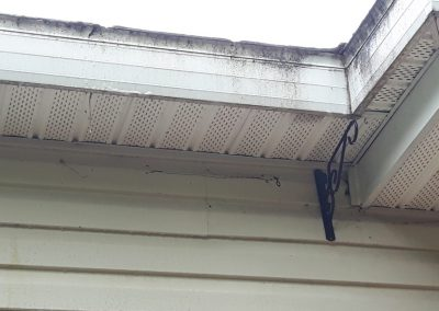 dessous terrasse maison sale