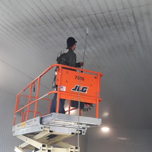 Nettoyage interieur et exterieur de garages et entrepots