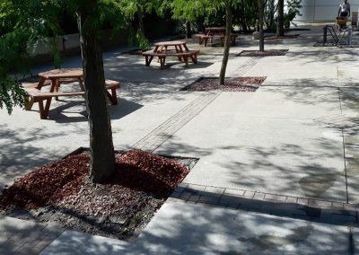 terrasse beton propre